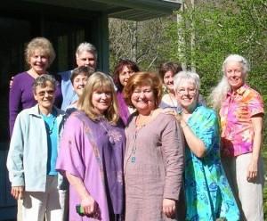 Spring 2007 - 1st Akashic Training Chanda, Nancy, and I are in front.