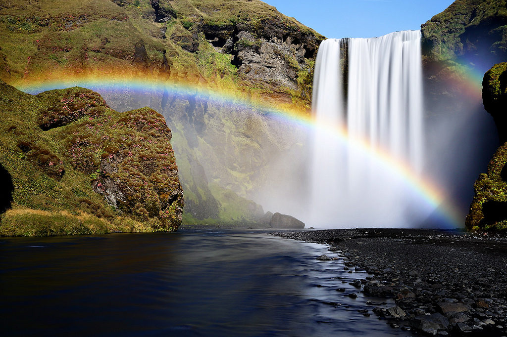 7-A-double-rainbow-pictured-at-Skogafoss-in-Iceland.-Photo-by-Oilfighter-flickr