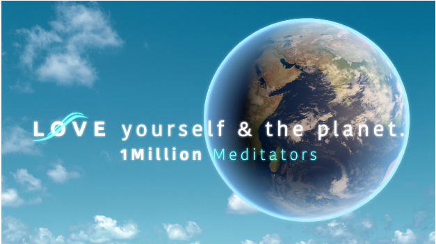 1Million Meditators' 4th 'Love Yourself & The Planet' Global Meditation @ Online and In-Person Worldwide