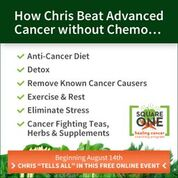 Square One Healing Cancer Program @ On-line