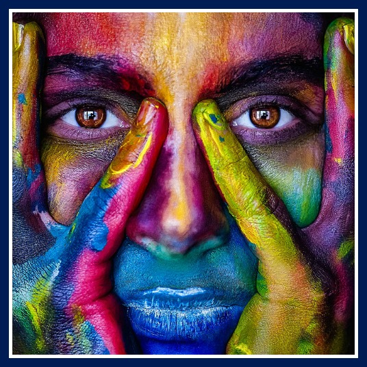 Face with Colors