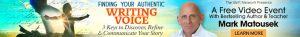 Finding Your Authentic Writing Voice @ On-line