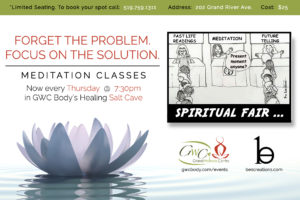One Sound Meditation Class @ Grand Wellness Centre | Brantford | Ontario | Canada